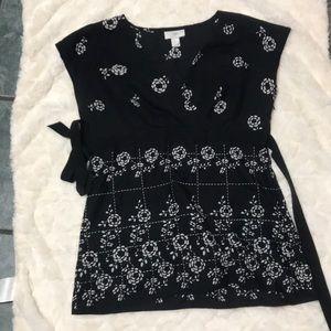 Ann Tyler loft floral blouse